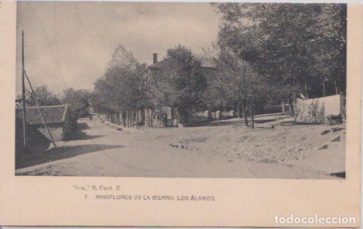 MIRAFLORES DE LA SIERRA (MADRID) - LOS ALAMOS (Postales - España - Comunidad de Madrid Antigua (hasta 1939))
