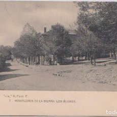 Postales: MIRAFLORES DE LA SIERRA (MADRID) - LOS ALAMOS. Lote 120770699