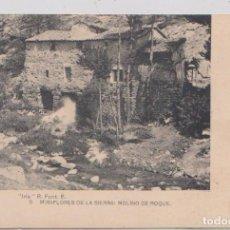 Postales: MIRAFLORES DE LA SIERRA (MADRID) - MOLINO DE ROQUE. Lote 120770719