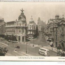 Postales: MADRID CALLE ALCALA SIN ESCRIBIR. Lote 121505267
