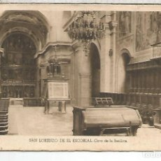 Postales: MADRID ESCORIAL ESCRITA. Lote 121505439