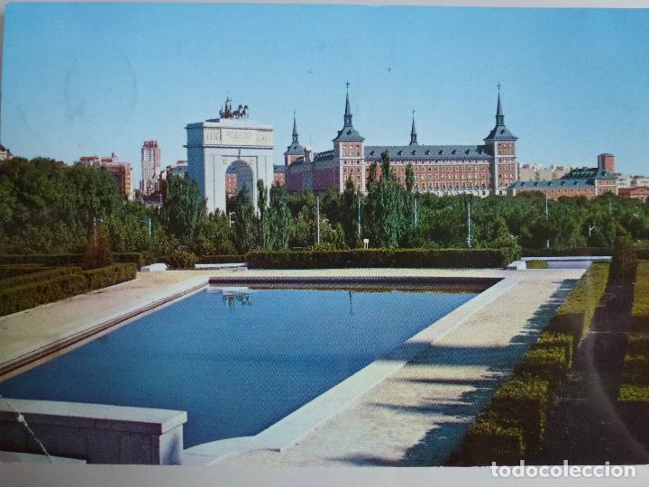 Postal Madrid Arco Del Triunfo Y Ministerio D Comprar Postales