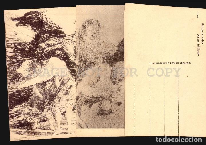Postales: Goya dibujos Museo del Prado serie de 20 tarjetas postalesFototipia Hauser y Menet - Foto 2 - 121897879
