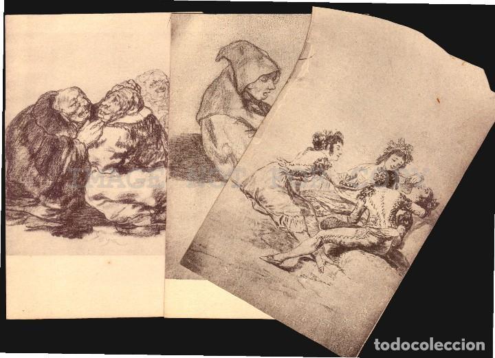Postales: Goya dibujos Museo del Prado serie de 20 tarjetas postalesFototipia Hauser y Menet - Foto 3 - 121897879