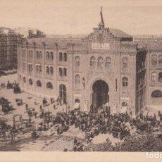 Postales: MADRID. PLAZA DE TOROS. POSTAL SIN CIRCULAR, TONOS GRIS-MARRON.AÑOS 30-40.. Lote 122281587