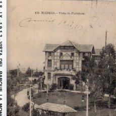 Postales: MADRID.- ENTRADA A MONCLOA Y PARISIANA, CIRCULADA 1913, FTO LACOSTE,JMOLINA1946. Lote 122354499