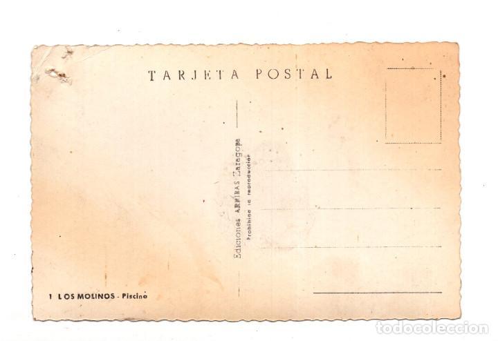 Postales: LOS MOLINOS.- PISCINA. EDICIONES ARRIBAS - Foto 2 - 122456219