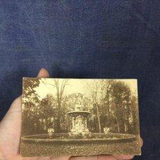 Postales: ANTIGUA POSTAL ARANJUEZ JARDIN PRINCIPE FUENTE DE NARCISO GRAFOS MADRID 1928 CASTRO URDIALES. Lote 122478519
