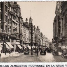 Cartes Postales: MADRID.- ALMACENES SIMEÓN, SIN CIRCULAR. FTO. GRAFOS,JMOLINA1946. Lote 124011439