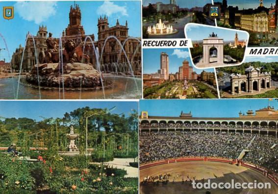 LOTE DE 59 POSTALES DE MADRID - CIRCULADAS Y SIN CIRCULAR - VER FOTOS ADJUNTAS (Postales - España - Madrid Moderna (desde 1940))