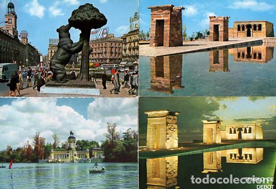 Postales: LOTE DE 59 POSTALES DE MADRID - CIRCULADAS Y SIN CIRCULAR - VER FOTOS ADJUNTAS - Foto 3 - 124013231