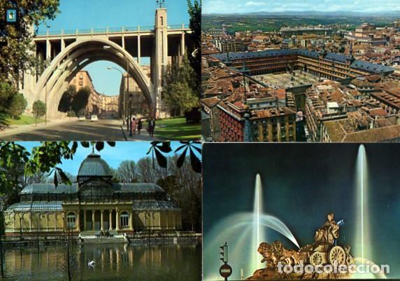 Postales: LOTE DE 59 POSTALES DE MADRID - CIRCULADAS Y SIN CIRCULAR - VER FOTOS ADJUNTAS - Foto 5 - 124013231