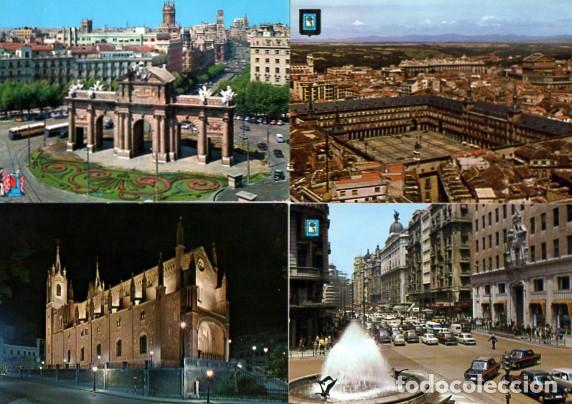 Postales: LOTE DE 59 POSTALES DE MADRID - CIRCULADAS Y SIN CIRCULAR - VER FOTOS ADJUNTAS - Foto 6 - 124013231