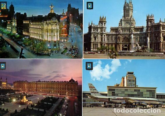 Postales: LOTE DE 59 POSTALES DE MADRID - CIRCULADAS Y SIN CIRCULAR - VER FOTOS ADJUNTAS - Foto 7 - 124013231