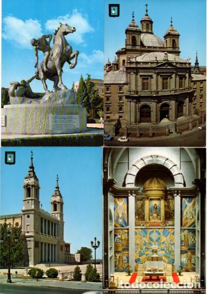Postales: LOTE DE 59 POSTALES DE MADRID - CIRCULADAS Y SIN CIRCULAR - VER FOTOS ADJUNTAS - Foto 8 - 124013231