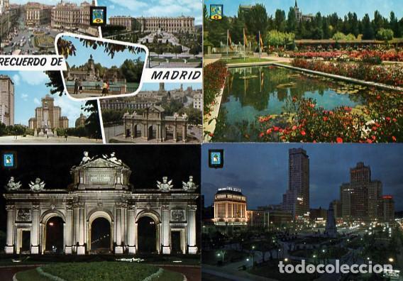 Postales: LOTE DE 59 POSTALES DE MADRID - CIRCULADAS Y SIN CIRCULAR - VER FOTOS ADJUNTAS - Foto 9 - 124013231