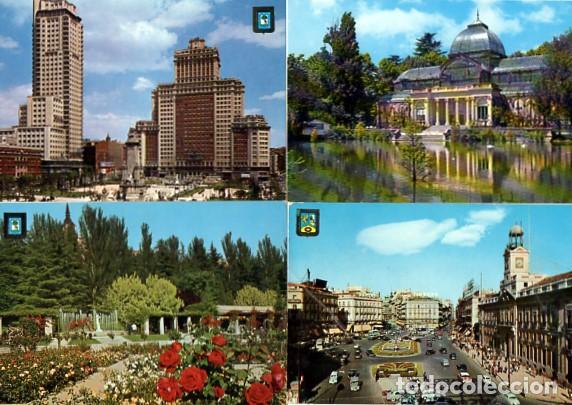 Postales: LOTE DE 59 POSTALES DE MADRID - CIRCULADAS Y SIN CIRCULAR - VER FOTOS ADJUNTAS - Foto 10 - 124013231