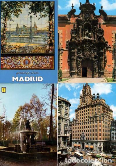 Postales: LOTE DE 59 POSTALES DE MADRID - CIRCULADAS Y SIN CIRCULAR - VER FOTOS ADJUNTAS - Foto 13 - 124013231