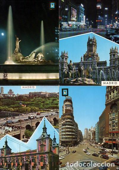Postales: LOTE DE 59 POSTALES DE MADRID - CIRCULADAS Y SIN CIRCULAR - VER FOTOS ADJUNTAS - Foto 14 - 124013231