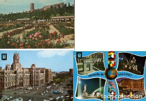 Postales: LOTE DE 59 POSTALES DE MADRID - CIRCULADAS Y SIN CIRCULAR - VER FOTOS ADJUNTAS - Foto 15 - 124013231