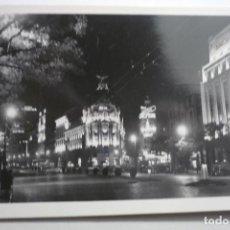 Postales: POSTAL MADRID NOCTURNO - CALLE ALCALA CM. Lote 124088199