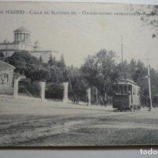 Postales: POSTAL MADRID .-CALLE ALFONSO XIII Y OBSERVATORIO--ESCRITA. Lote 124091023