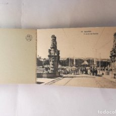 Postales: BLOC CON 20 POSTALES ANTIGUAS DE LA CIUDAD DE MADRID - FOTOTIPIA DE HAUSER Y MENET. Lote 124461071