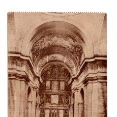 Postales: SAN LORENZO DEL ESCORIAL.- REAL MONASTERIO INTERIOR IGLESIA. ED. TOMAS MORA. Lote 124462263