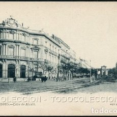 Postales: POSTAL MADRID CALLE DE ALCALA . LAURENT 60 . CA AÑO 1900. Lote 124543363