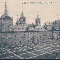 Postales: POSTAL EL ESCORIAL 2 - FACHADA PRINCIPAL Y ANGULO DEL SEMINARIO - LACOSTE. Lote 124551547