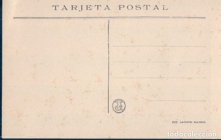 Postales: POSTAL EL ESCORIAL 2 - FACHADA PRINCIPAL Y ANGULO DEL SEMINARIO - LACOSTE - Foto 2 - 124551547
