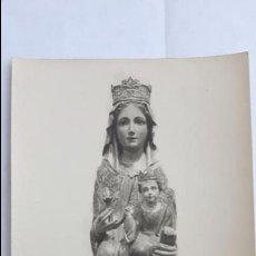Postales: COLMENAR VIEJO. IMAGEN DE NUESTRA SEÑORA DE LOS REMEDIOS PATRONA DE COLMENAR VIEJO.. Lote 174016948