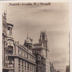 Postales: POSTAL DE MADRID - AVENIDA PI Y MARGALL. Lote 126236331