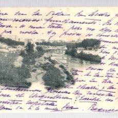 Postales: TARJETA POSTAL MADRID. VISTA DESDE LA FUENTE DE LA TEJA. AÑO 1901. Nº 280. HAUSER Y MENET. Lote 126244760