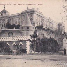 Postales: POSTAL DE MADRID - PALACIO REAL Y CAMPO DEL MORO. Lote 126424391