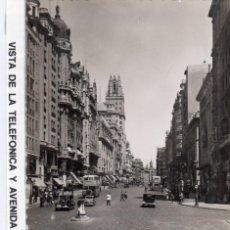 Postales: MADRID.- AV/ GRAN VIÁ,Cª, TELEFÓNICA,SIN CIRCULAR. FTO F.MOLINA.JMOLINA1946. Lote 126628567