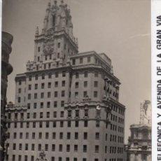 Postales: MADRID.- AV/ GRAN VIÁ,Cª, TELEFÓNICA,SIN CIRCULAR. FTO F.MOLINA.JMOLINA1946. Lote 126628883