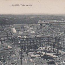 Postales: MADRID - VISTA PARCIAL DE LA PLAZA MAYOR - FOTOTIPIA DE HAUSER Y MENET. Lote 126809951