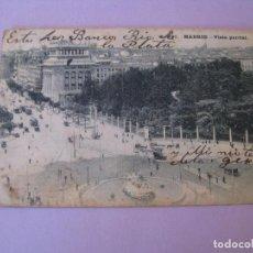 Postales: POSTAL DE MADRID. VISTA PARCIAL. ED. GRAFOS. ESCRITA 1920.. Lote 126819107