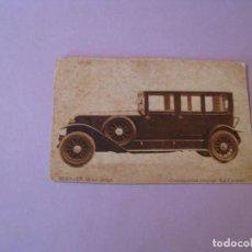 Postales: POSTAL DE PUBLICIDAD DE RENAULT 18CV. LARGO. AÑOS 20. ED. GRAFICOS VILLARROCA. ESCRITA.. Lote 126820295