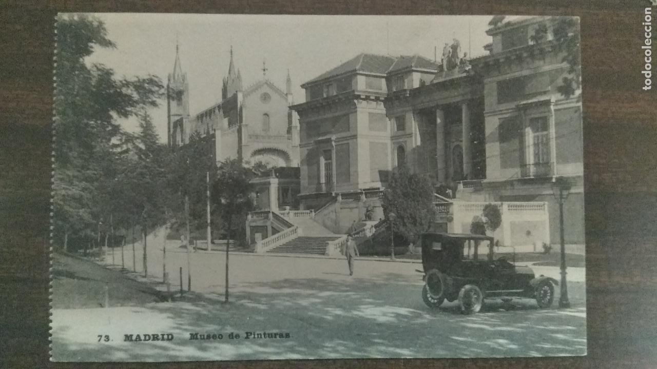 ANTIGUA POSTAL MADRID MUSEO DE PINTURAS GRAFOS MADRID SIN CIRCULAR (Postales - España - Comunidad de Madrid Antigua (hasta 1939))
