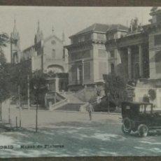 Postales: ANTIGUA POSTAL MADRID MUSEO DE PINTURAS GRAFOS MADRID SIN CIRCULAR. Lote 127149871