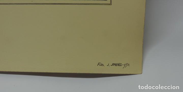Postales: FOTOGRAFIA ORIGINAL DEL FOTOGRAFO J. JIMENEZ 1930, ROBLEDON (MADRID), IGLESIA, POSIBLEMENTE SE TRATA - Foto 3 - 127309859