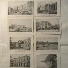 Postales: LOTE DE 10 POSTALES ANTIGUAS DE MADRID - IMP. DE A.PEREZ,VALVERDE,5 - MADRID - SIN CIRCULAR. Lote 127633207