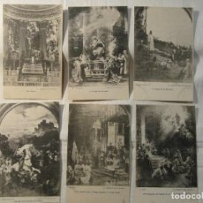Postales: LOTE DE 6 POSTALES ANTIGUAS - IMAGENES DE LA IGLESIA DE SAN FRANCISCO - SIN CIRCULAR. Lote 127739827