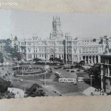 Postales - MADRID - PLAZA CIBELES Y PALACIO COMUNICACIONES - GARCIA GARRABELLA Nº 4 - CIRCULADA EN 1955 - 127867631