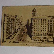 Postales: MADRID AVENIDA DE PÍ Y MARGALL - SIN CIRCULAR. Lote 127880207
