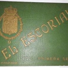 Postales: EL ESCORIAL. PRIMERA SERIE. HIJO DE NICOLÁS SERRANO. Lote 128055468