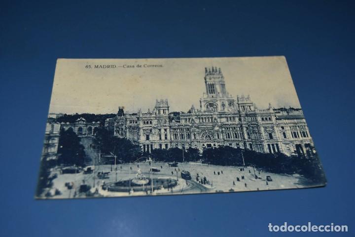 POSTAL CIRCULADA Y FECHADA EN 1927