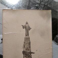 Postales: RECUERDO MONUMENTO NACIONAL DEL SAGRADO CORAZON CERRO DE LOS ANGELES GETAFE. Lote 128114555